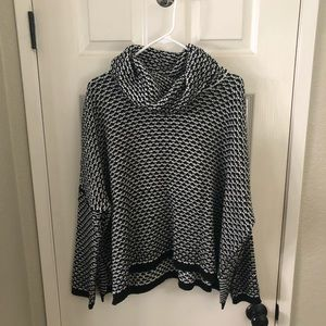 Sienna Sky Cowl Neck Sweater
